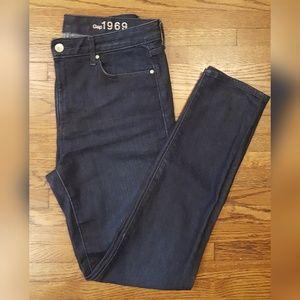Gap High Rise Skinny Jeans 29